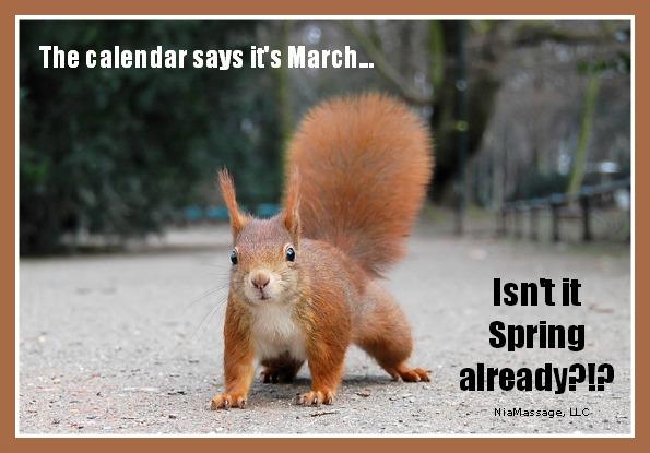 Isn't it Spring already?
