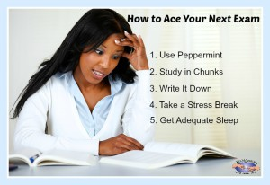 Studying for Exams doesn't have to be a chore. Use these tips to ace your test!